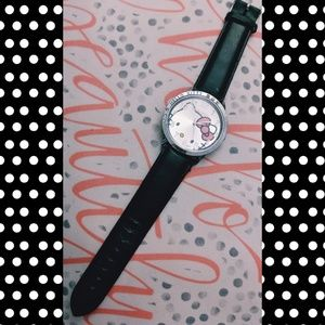 🔥🖤Genuine Leather Hello Kitty Watch🖤🔥